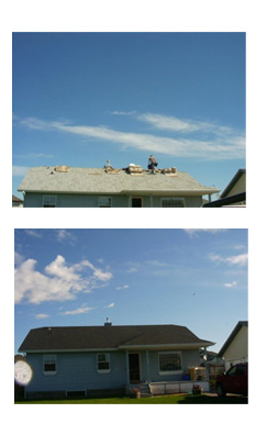 calgary roofing images